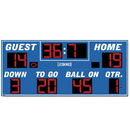 Electro - Mech Outdoor Football Scoreboard Model LX3340