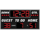 Electro - Mech Outdoor Football Scoreboard Model LX3150