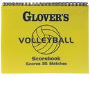 Glover's Scorebooks 05829 Glover's Shortform Volleyball Scorebook