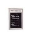 Salsbury Industries 1024 Marquee Directory - Aluminum