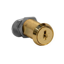 Salsbury Industries 11115 Replacement Lock - Gold Finish Cylinder - for Solid Oak Executive Wood Locker Door - with (2) keys