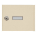 Salsbury Industries 19951K-SAN Replacement Door with Master Key Lock - Standard A Size - for Cell Phone Locker - with (2) Keys - Sandstone