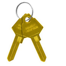 Salsbury Industries 2099 Key Blanks - for Standard Locks of Brass Mailboxes - Box of (50)