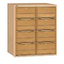 Salsbury Industries 2108RL Americana Mailbox - 8 Doors - Rear Loading