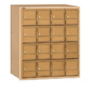 Salsbury Industries 2116RL Americana Mailbox - 16 Doors - Rear Loading