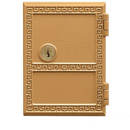 Sandstone Salsbury Industries 3451SAN Replacement Door and Lock Standard MB1 Size for 4C Pedestal Mailbox with Keys