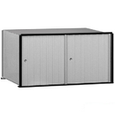 Salsbury Industries 2202 Aluminum Mailbox - 2 Doors - Rack Ladder System