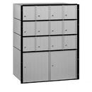 Salsbury Industries 2214 Aluminum Mailbox - 14 Doors - Standard System