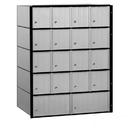 Salsbury Industries 2218 Aluminum Mailbox - 18 Doors - Standard System