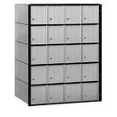 Salsbury Industries 2220 Aluminum Mailbox - 20 Doors - Standard System