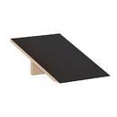 Salsbury Industries 22251BLK Sloping Hood - for 18 Inch Deep Extra Wide Designer Wood Locker - 1 Wide - Black