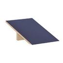Salsbury Industries 22251BLU Sloping Hood - for 18 Inch Deep Extra Wide Designer Wood Locker - 1 Wide - Blue