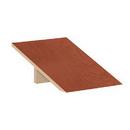 Salsbury Industries 22251CHE Sloping Hood - for 18 Inch Deep Extra Wide Designer Wood Locker - 1 Wide - Cherry