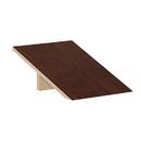 Salsbury Industries 22251MAH Sloping Hood - for 18 Inch Deep Extra Wide Designer Wood Locker - 1 Wide - Mahogany
