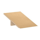 Salsbury Industries 22251MAP Sloping Hood - for 18 Inch Deep Extra Wide Designer Wood Locker - 1 Wide - Maple