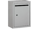 Salsbury Industries 2240AU Letter Box - Standard - Surface Mounted - Aluminum - USPS Access