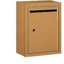 Salsbury Industries 2240BU Letter Box - Standard - Surface Mounted - Brass - USPS Access
