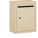 Salsbury Industries 2240SU Letter Box - Standard - Surface Mounted - Sandstone - USPS Access