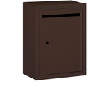 Salsbury Industries 2240ZU Letter Box - Standard - Surface Mounted - Bronze - USPS Access