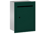 Salsbury Industries 2245GU Letter Box - Standard - Recessed Mounted - Green - USPS Access