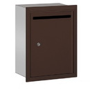 Salsbury Industries 2245ZP Letter Box (Includes Commercial Lock) - Standard - Recessed Mounted - Bronze - Private Access