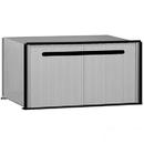 Salsbury Industries 2280 Aluminum Drop Box - 1 Compartment