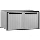 Salsbury Industries 2282 Aluminum Drop Box - 2 Compartments