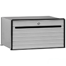 Salsbury Industries 2401 Data Distribution System Aluminum Box - 1 Door
