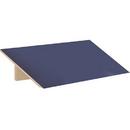 Salsbury Industries 33354BLU Sloping Hood - for 21 Inch Deep Designer Wood Locker - 3 Wide - Blue