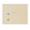 Salsbury Industries 3353SAN Replacement Parcel Locker Door and Tenant Lock - for Cluster Box Unit - Small Parcel Locker - with (3) Keys - Sandstone
