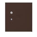 Salsbury Industries 3354BRZ Replacement Parcel Locker Door and Tenant Lock - for Cluster Box Unit - Large Parcel Locker - with (3) Keys - Bronze