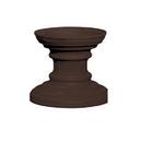Salsbury Industries 3386BRZ Regency Decorative Pedestal Cover - Short (Option for CBU Pedestal #3385) - Bronze