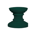 Salsbury Industries 3386GRN Regency Decorative Pedestal Cover - Short (Option for CBU Pedestal #3385) - Green