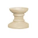 Salsbury Industries 3386SAN Regency Decorative Pedestal Cover - Short (Option for CBU Pedestal #3385) - Sandstone
