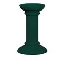 Salsbury Industries 3396GRN Regency Decorative Pedestal Cover - Tall - Green