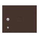 Salsbury Industries 3453BRZ Replacement Door and Lock - Standard MB3 Size - for 4C Pedestal Mailbox - with (3) Keys - Bronze