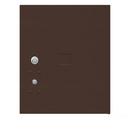 Salsbury Industries 3454.5P-BRZ Replacement Parcel Locker Door and Tenant Lock - for Standard 4.5 High (PL4.5) 4C Pedestal Parcel Locker - with (3) Keys - Bronze
