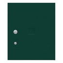 Salsbury Industries 3454.5P-GRN Replacement Parcel Locker Door and Tenant Lock - for Standard 4.5 High (PL4.5) 4C Pedestal Parcel Locker - with (3) Keys - Green