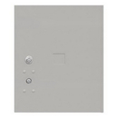 Salsbury Industries 3454.5P-GRY Replacement Parcel Locker Door and Tenant Lock - for Standard 4.5 High (PL4.5) 4C Pedestal Parcel Locker - with (3) Keys - Gray