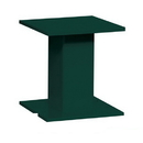 Salsbury Industries 3485GRN Replacement Pedestal - for 4C Pedestal Mailbox #3416, #3415, #3414, #3413 and #3412 and Pedestal Collection Box #3450 and #3475 - Green