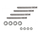 Salsbury Industries 3493 Expansion Wedge Anchor Pedestal Mounting Kit - to Install Pedestal to Existing Concrete - for 4C Pedestal Mailbox