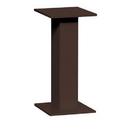 Salsbury Industries 3495BRZ Replacement Pedestal - for 4C Pedestal Mailbox #3411, #3410, #3409, #3408, #3407, #3406 and #3405 - Bronze
