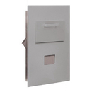 Salsbury Industries 3600C5-ARU Collection Unit - for 5 Door High 4B+ Mailbox Units - Aluminum - Rear Loading - USPS Access