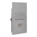 Salsbury Industries 3600C6-ARU Collection Unit - for 6 Door High 4B+ Mailbox Units - Aluminum - Rear Loading - USPS Access