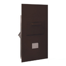 Salsbury Industries 3600C6-ZRU Collection Unit - for 6 Door High 4B+ Mailbox Units - Bronze - Rear Loading - USPS Access