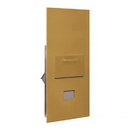 Salsbury Industries 3600C7-GRP Collection Unit - for 7 Door High 4B+ Mailbox Units - Gold - Rear Loading - Private Access
