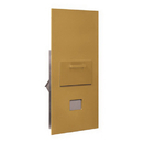 Salsbury Industries 3600C7-GRU Collection Unit - for 7 Door High 4B+ Mailbox Units - Gold - Rear Loading - USPS Access