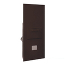 Salsbury Industries 3600C7-ZRU Collection Unit - for 7 Door High 4B+ Mailbox Units - Bronze - Rear Loading - USPS Access