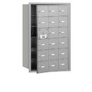 Salsbury Industries 3618AFU 4B+ Horizontal Mailbox - 18 A Doors (17 usable) - Aluminum - Front Loading - USPS Access