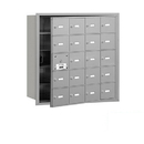 Salsbury Industries 3620AFP 4B+ Horizontal Mailbox (Includes Master Commercial Lock) - 20 A Doors (19 usable) - Aluminum - Front Loading - Private Access